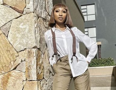Enhle Mbali's fashion line features on Vogue Italia