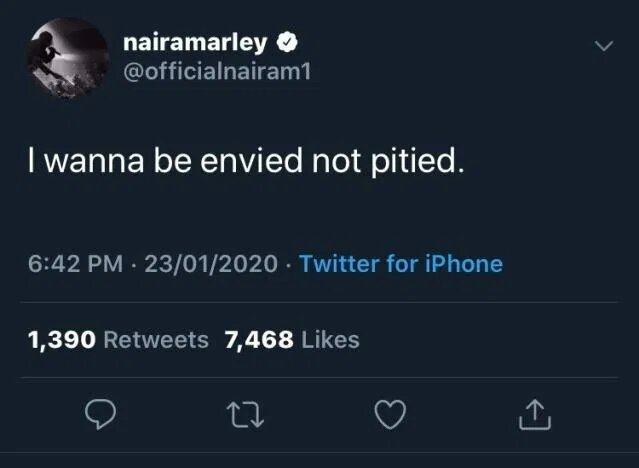 I Prefer To Be Envied, Not Pitied – Naira Marley Says