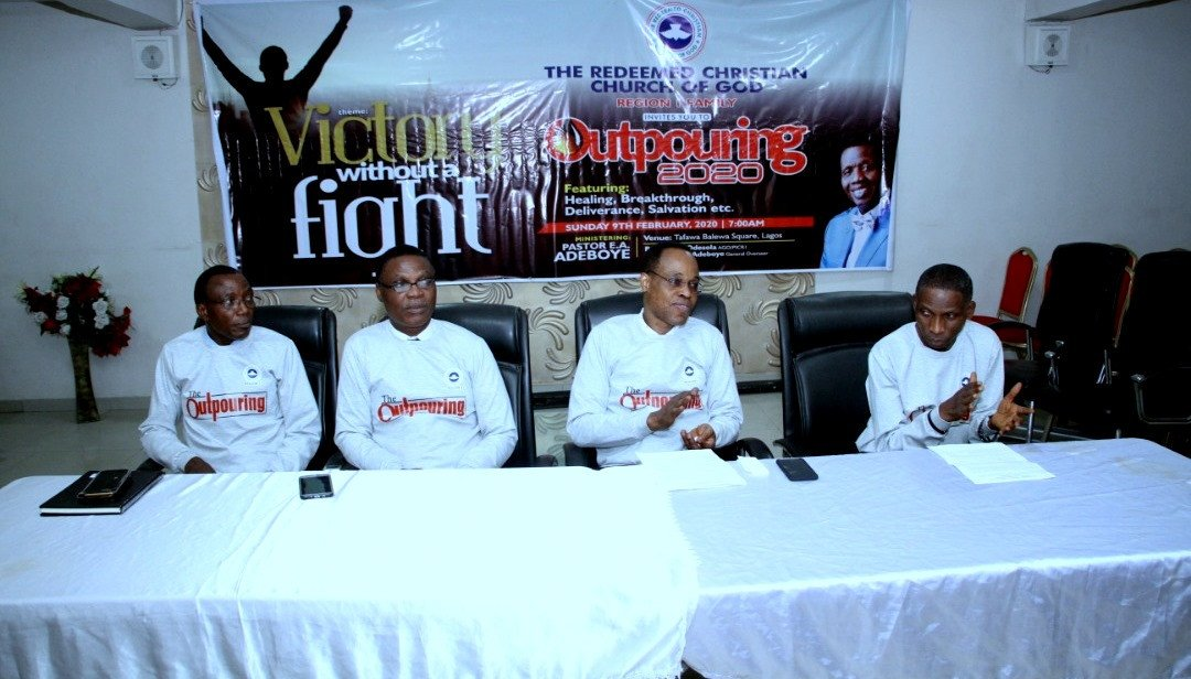 RCCG Region 1 holds a City-wide annual crusade – Outpouring 2020 With Pastor E.A Adeboye