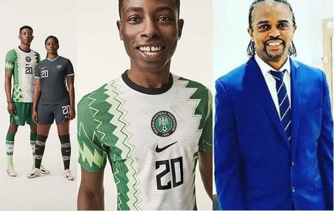 Here's what Kanu Nwankwo thinks about the new Super Eagles kit