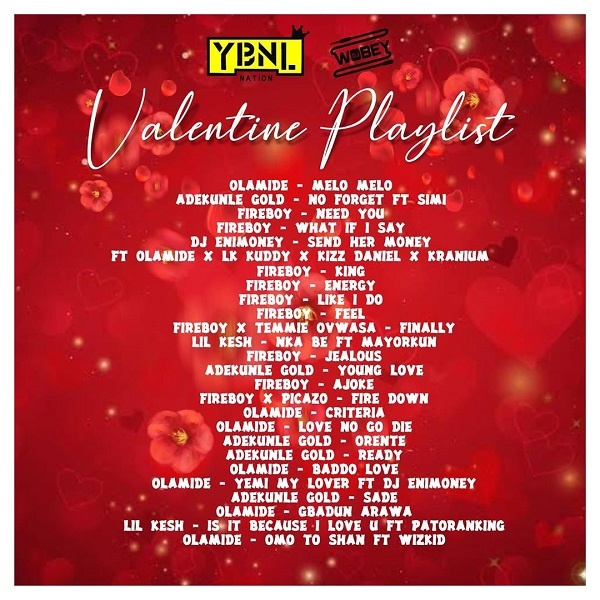 DOWNLOAD: DJ Enimoney – Valentine's Playlist Mix (mp3)