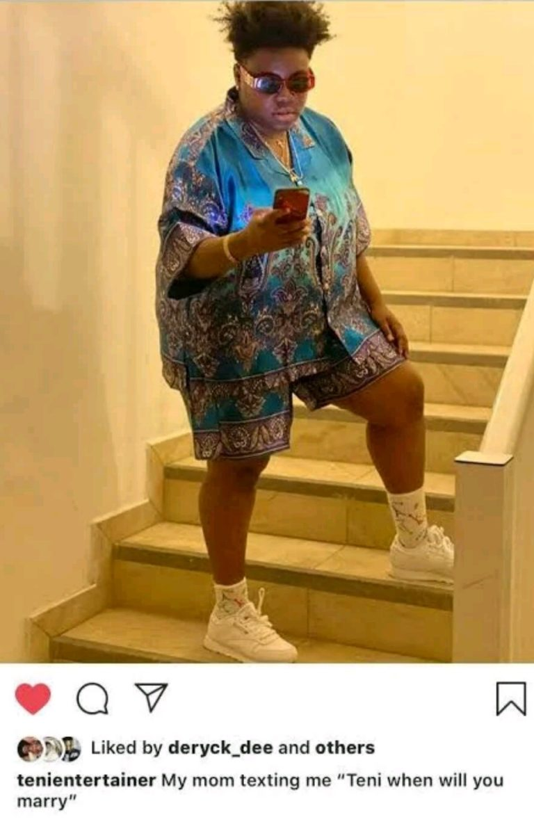 Teni Finally Reveals When She Will Get Married