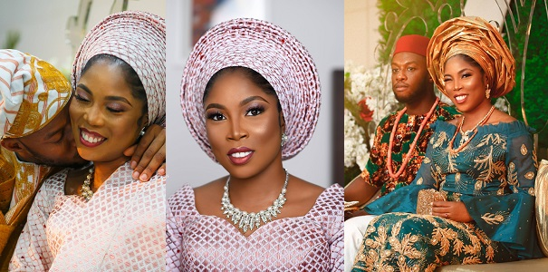 Tiwa Savage's Lookalike Gets Married, Tiwa's Fans React (Photos)