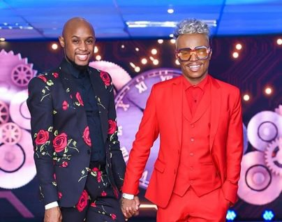 Watch: Mohale gave Somizi a car-concert surprise on Valentine's day