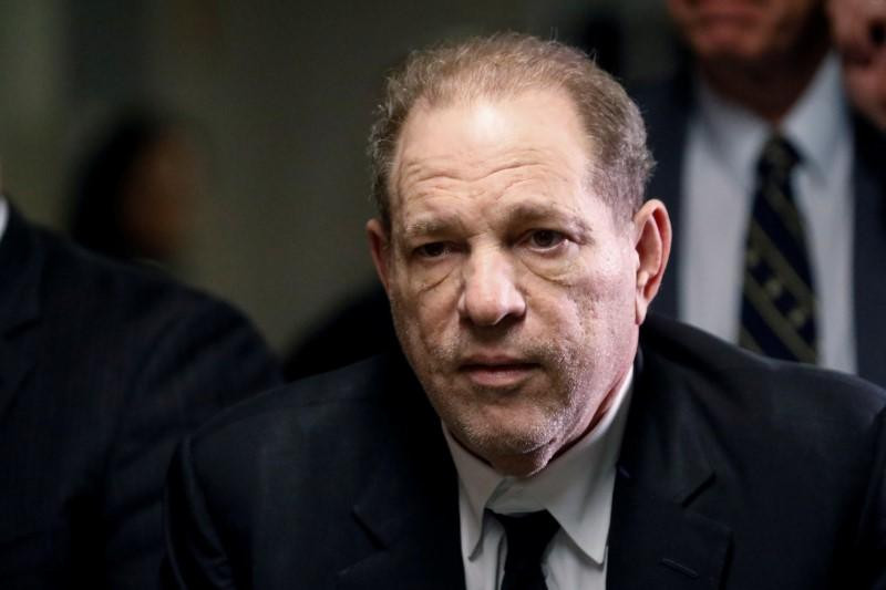 Harvey Weinstein reportedly tests positive for coronavirus in prison