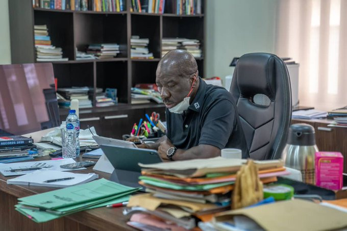 Edo state governor, Godwin Governor Obaseki tests negative for Coronavirus, remains in self-isolation