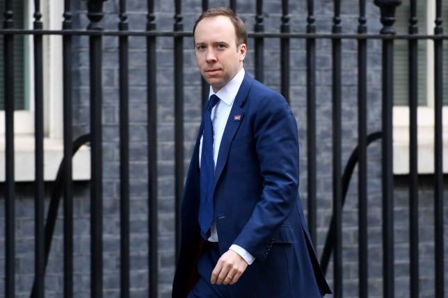 UK Health Secretary Matt Hancock tests positive for coronavirus after Boris Johnson diagnosis