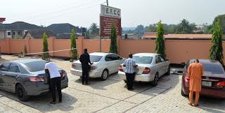 EFCC arrests six yahoo boys with coffin, others in Oluyole, Alao- Akala's estates