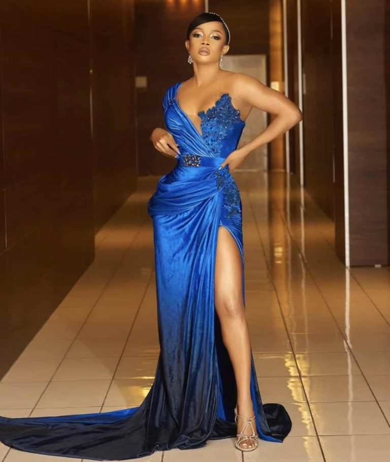 Photos Of Nigerian Celebrities Who Attended AMVCA 2020 With Their Lovely Outfits