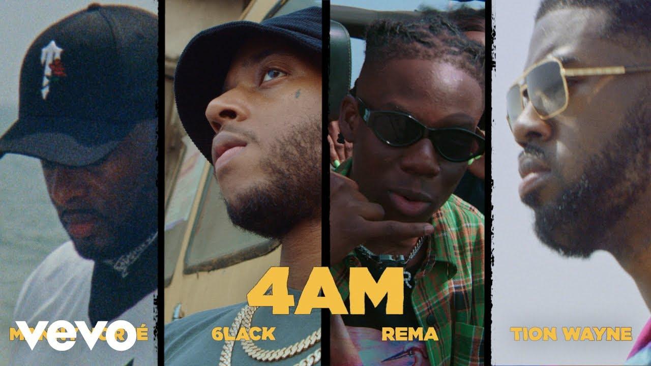 DOWNLOAD Manny Norté, 6LACK, Rema, Tion Wayne – 4AM MP3