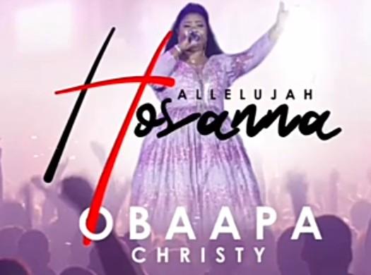 DOWNLOAD: Obaapa Christy – Hallelujah Hosanna (mp3)