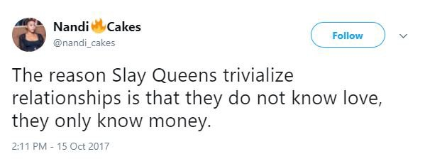 """They Dress On Credit But Only Undress For Cash"" – Lady Reveals Truth About Slay Queens [Read Here]"