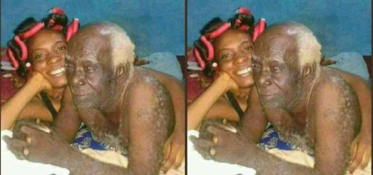 I'm 30, My Boyfriend Is 62yrs Old;; He Satisfies Me In Bed ( See Photos )