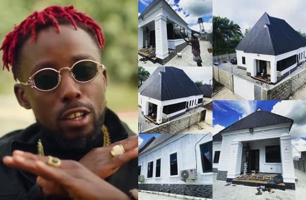Rapper Erigga shows off his new house (photos)