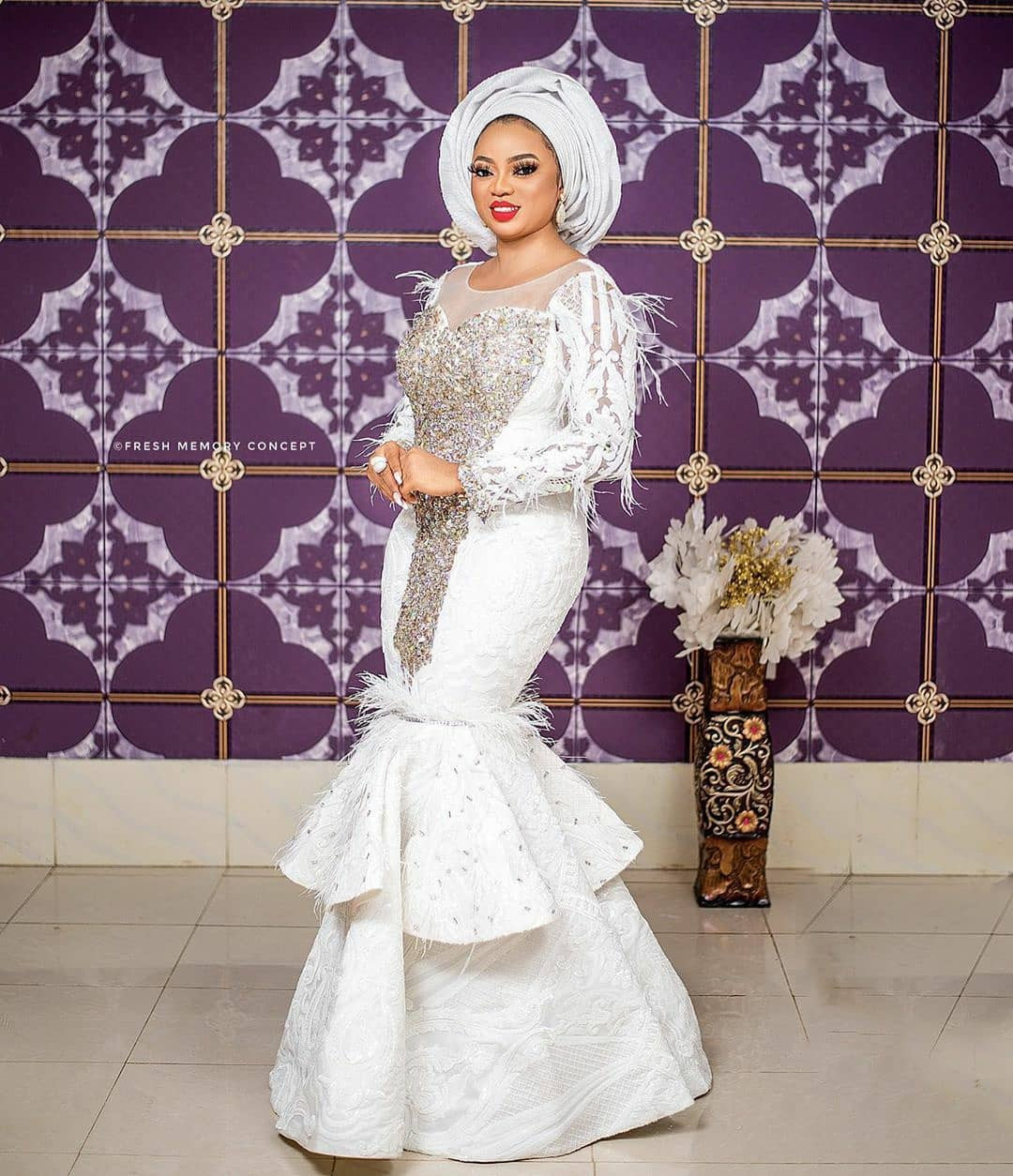 Wife of Alaafin of Oyo, Anu celebrates her birthday with beautiful ...
