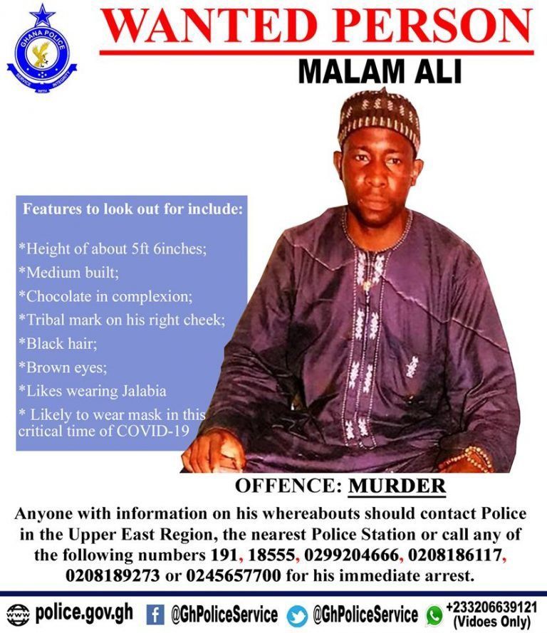 Popular Mallam declared wanted by police for the murder of a 21 years old boy (photo)