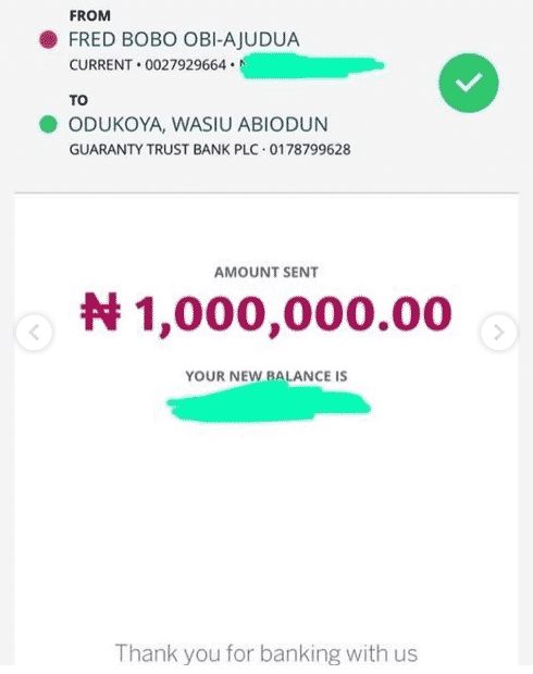 Boy Who Edited Photo Of Davido And Wizkid Receives N1m From Davido (Watch Video)