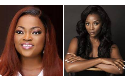 Funke Akindele Reacts As Blogger Compares Her With Genevieve Nnaji (See Screenshot)