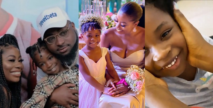 Davido's Daughter, Imade Speaking French Fluently With Her Mom (Video)
