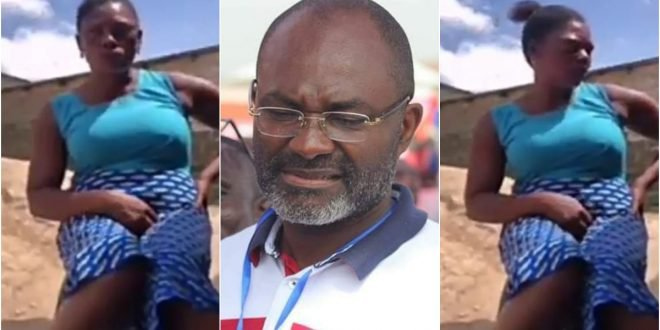 Kennedy Agyapong exposes Ghanian woman who fakes  miracle in church