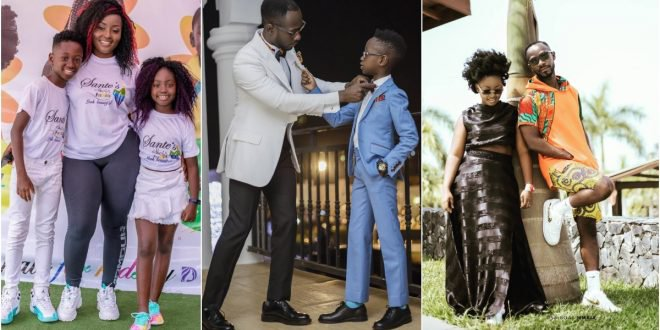 """I am proud to be your mother""- Okyeame kwame's wife sends warm birthday wish to son."