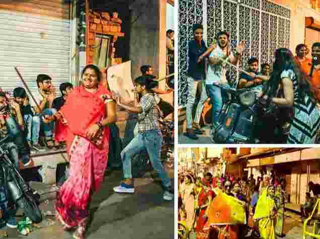 Women In India Storm The Streets To Flog Men, See SHOCKING Reason