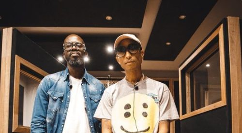 Black Coffee announces collaboration with Pharrell Williams