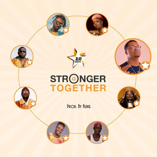 DOWNLOAD Efya, Yaa Pono, Bosom Pyung, Kojo Cue, Fancy Gadam, CJ Biggerman, Pappy Kojo, Feli Nuna – Stronger Together MP3