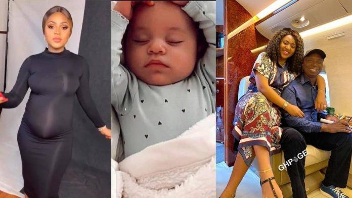 First photos of Regina Daniels' handsome son hit online