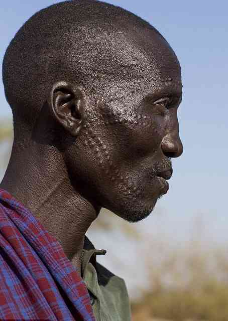 The World's Most Painful Tattoos Are Decorated with THORNS? Check out Unbelievable Culture Customs in Ethiopian and Sudanese Tribes