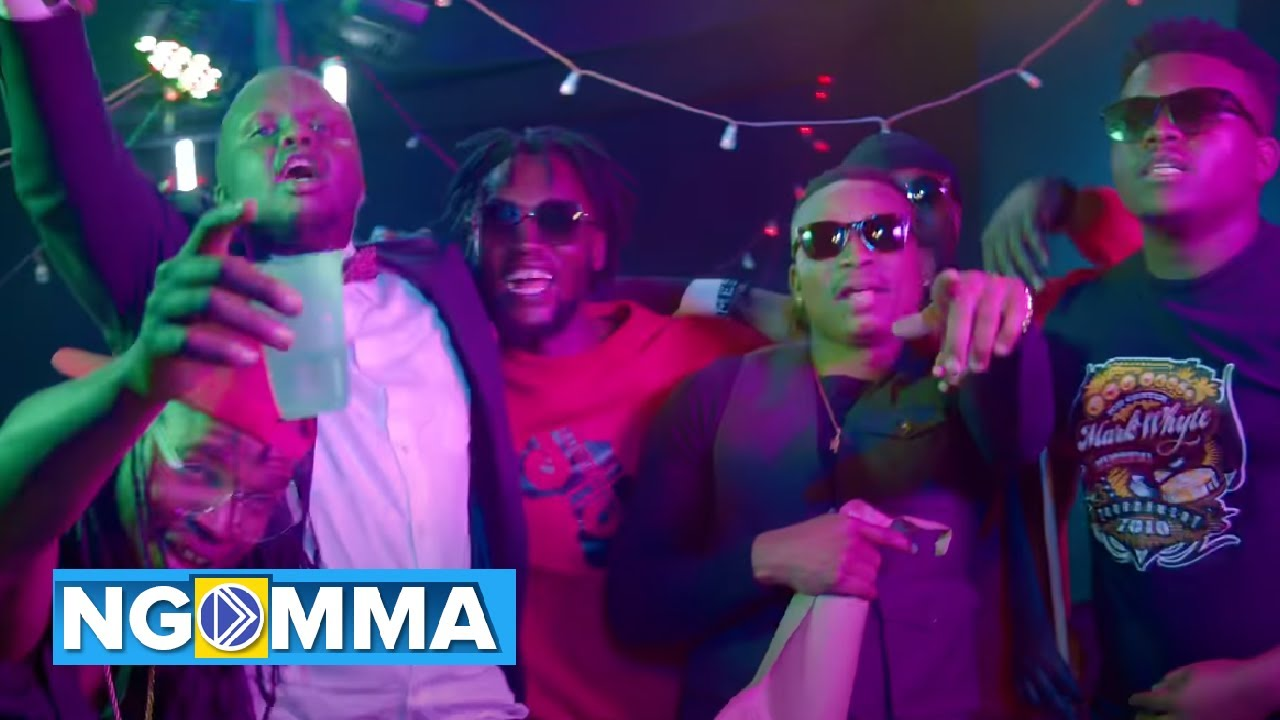 VIDEO: Otile Brown Ft. Mejja, Magix Enga – Watoto Na Pombe | mp4 Download