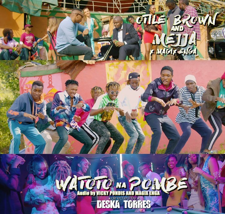 DOWNLOAD Otile Brown Ft Mejja & Magix Enga – Watoto Na Pombe MP3
