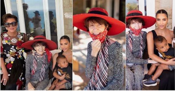 Kim Kardashian throws beautiful grandmother a memorable party as she clocks 86