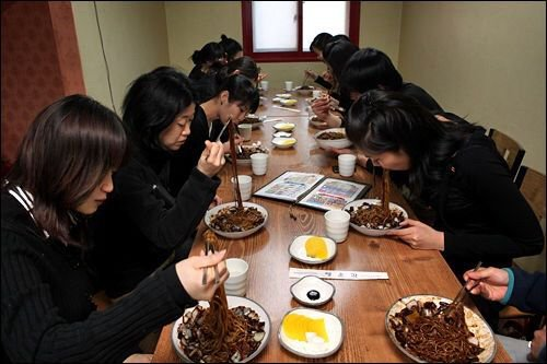 BLACK DAY!! See This Day In South Korea Where People That Do Did Not Have A Val on Valentines Day, Gather To Eat And Have Fun