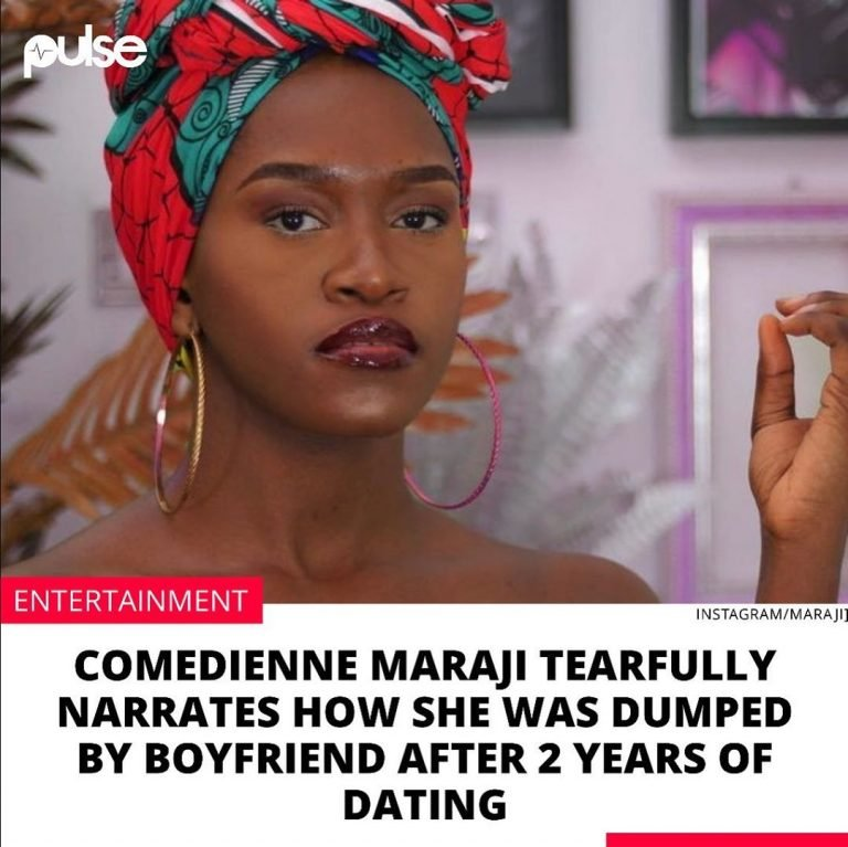 Comedienne Maraji Tearfully Narrates How She Was Dumped By Boyfriend After 2 Years Of Dating