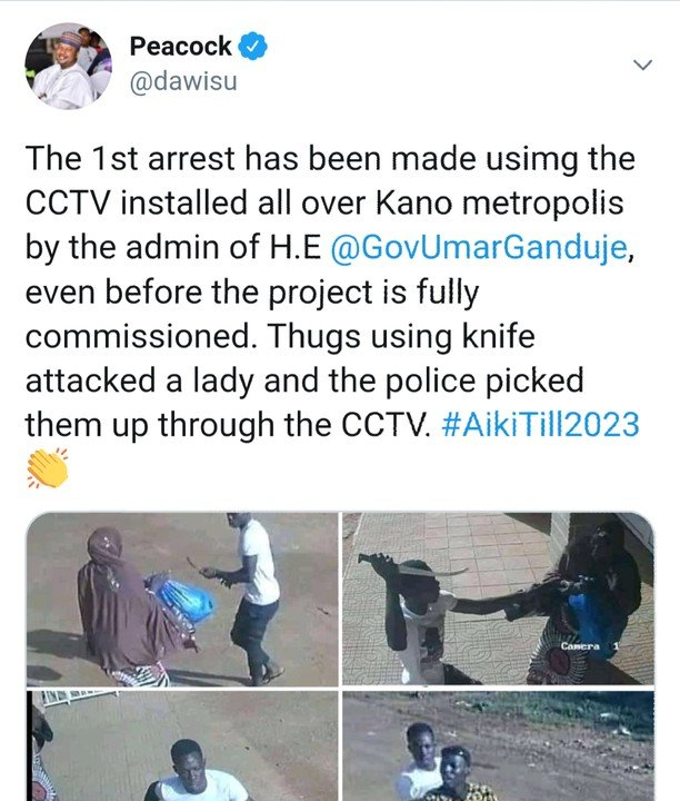 Thugs Arrested Using Kano CCTV System