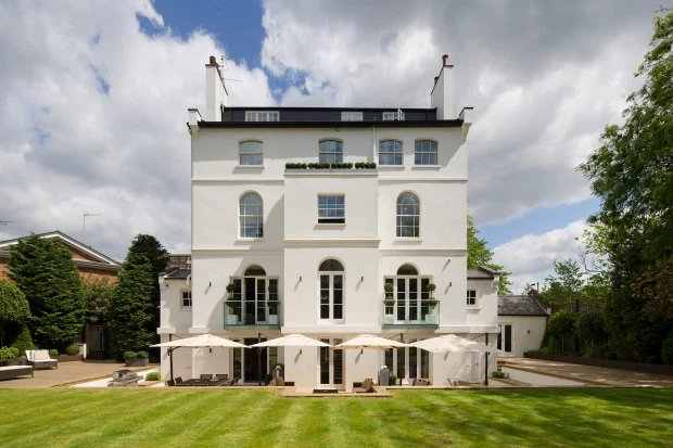 Rihanna's stunning London mansion is up for sale for '£32million' (photos)