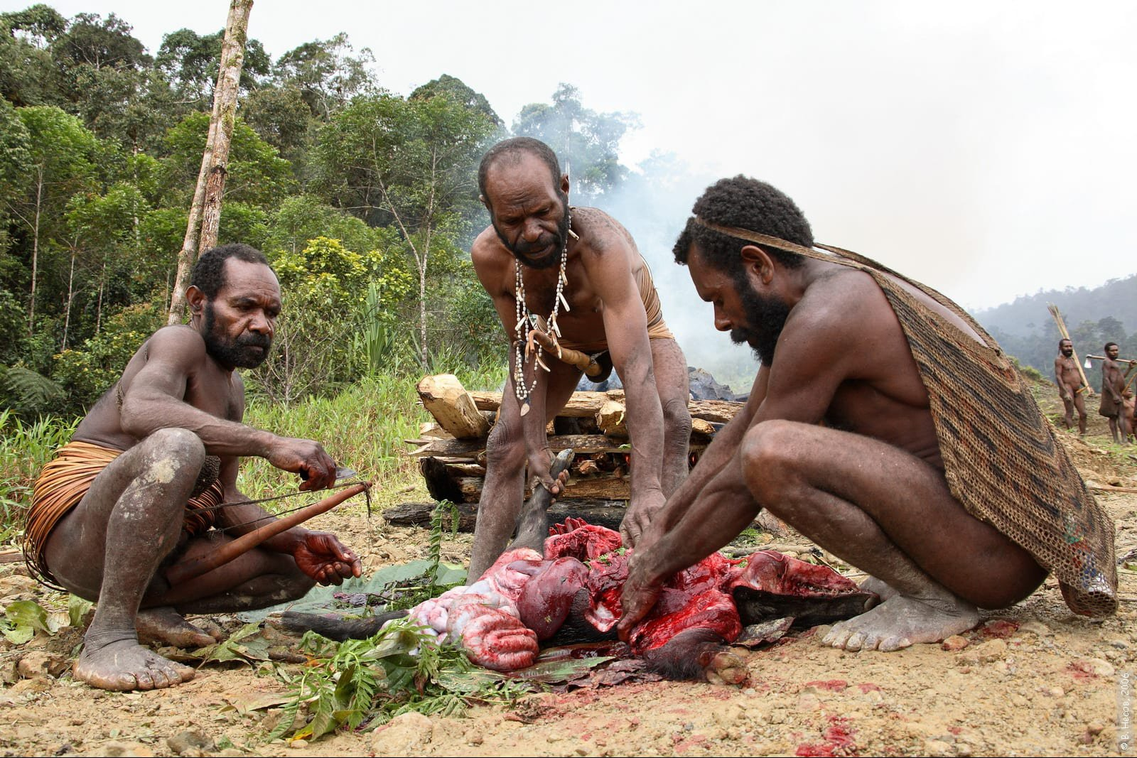 CANNIBALS!! See This Place In Indonesia Where They Eat Human Beings, They Do It To Scare Other Tribes
