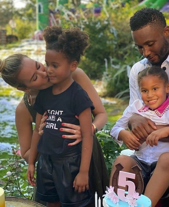 Photos from John Mikel Obi's twin daughters' 5th birthday party