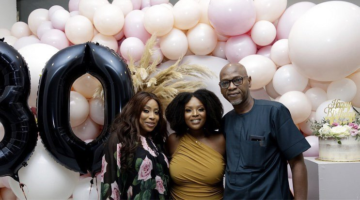 Photos from Mo Abudu's daughter, Temidayo's 30th birthday party