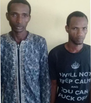 Two herdsmen arrested for robbing a family and defiling their 16-year-old daughter