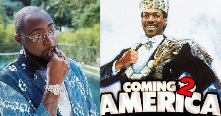 """Davido to feature in """"Coming to America 2"""""""