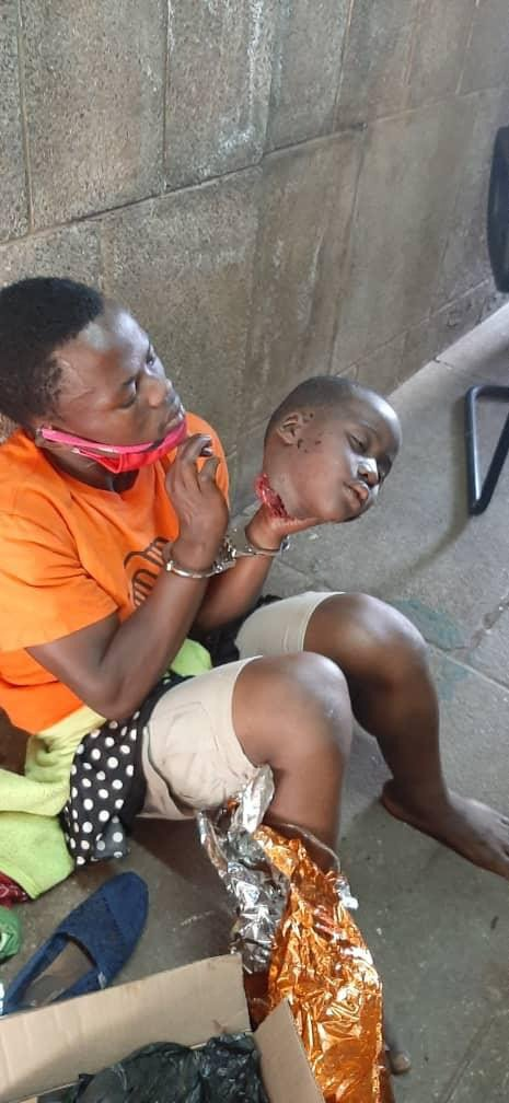 Horror! Young man arrested with fresh head of a child at Uganda Parliament, says it is 'gift' for the Speaker