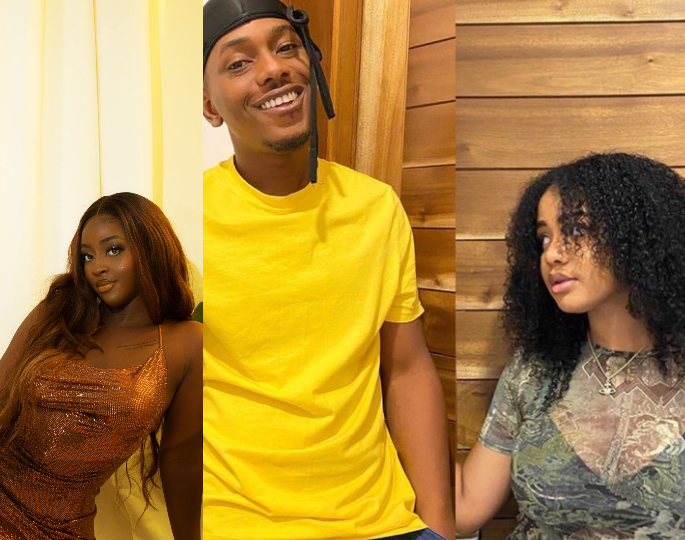 Timini Egbuson's alleged side chic mocks his girlfriend Lydia as she shares screenshot of chats Lydia sent to her threatening her with legal action