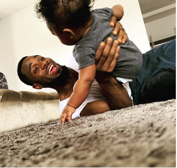 Dbanj celebrates his son on his 1st birthday (Photo)