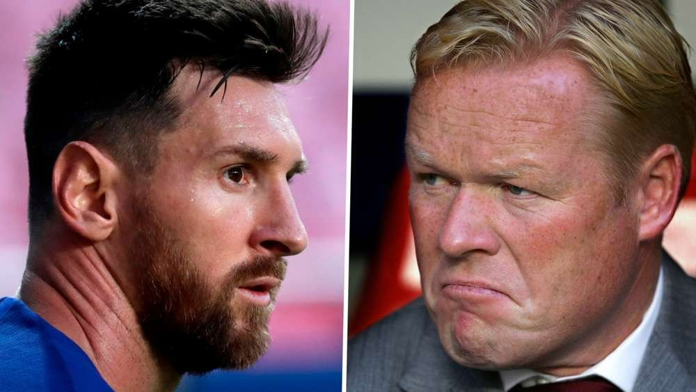New Barcelona coach Ronald Koeman insists he has a good relationship with Lionel Messi