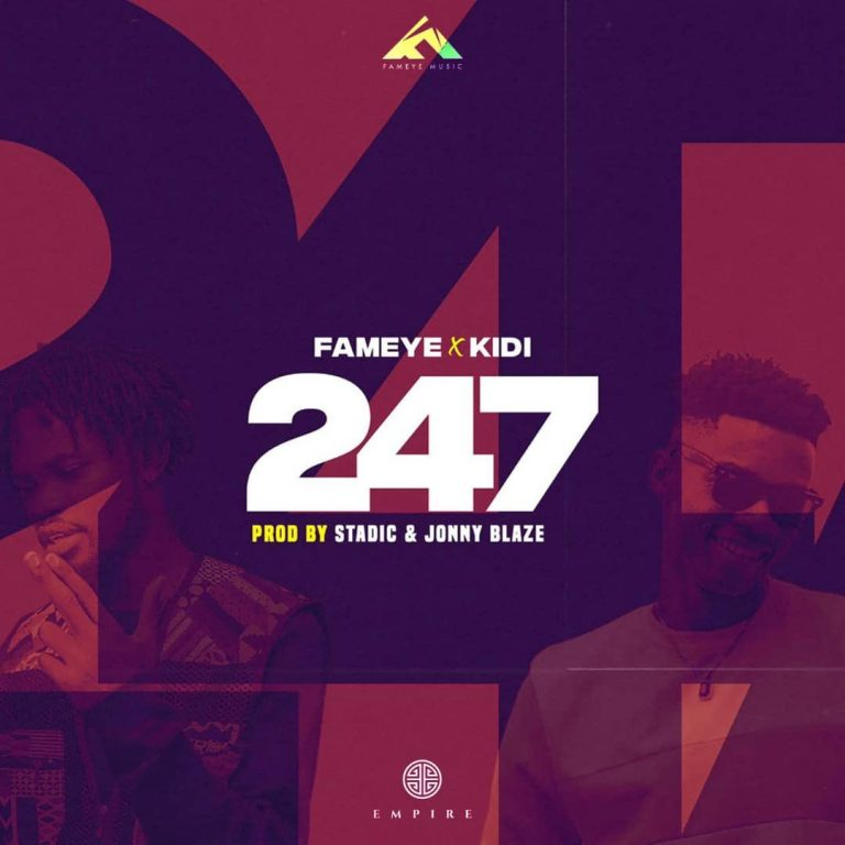 DOWNLOAD Fameye ft. KiDi – 247 MP3