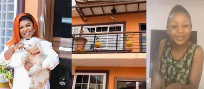 Afia Schwar shows off new house to pepper Akuapem Poloo