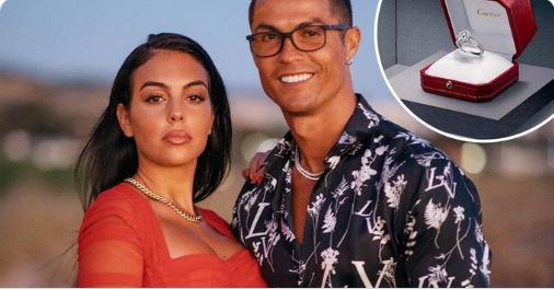 Cristiano Ronaldo's engagement ring to Georgina Rodriguez costs R13 million