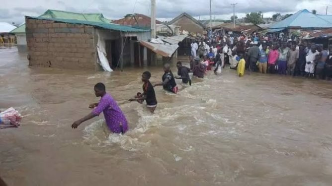 Flood Sweeps Away Two Children In Lagos